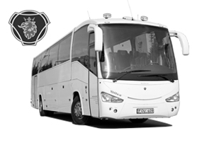 Bus Scania Irizar rental