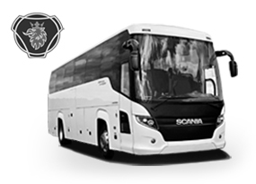 Bus Scania Touring rental