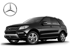 Automobilio Mercedes-Benz ML nuoma