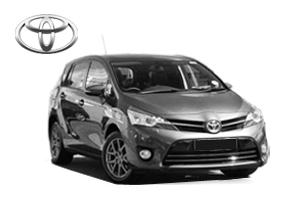 Miniveno Toyota Verso nuoma